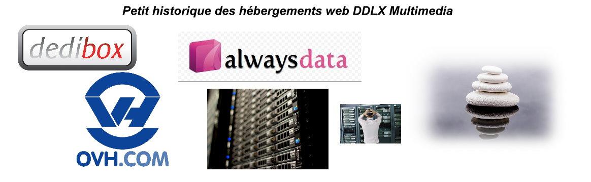 Historique des hébergements web DDLX