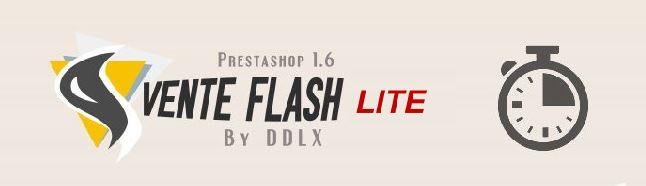 Module vente flash lite pour Prestashop 1.6 gratuit