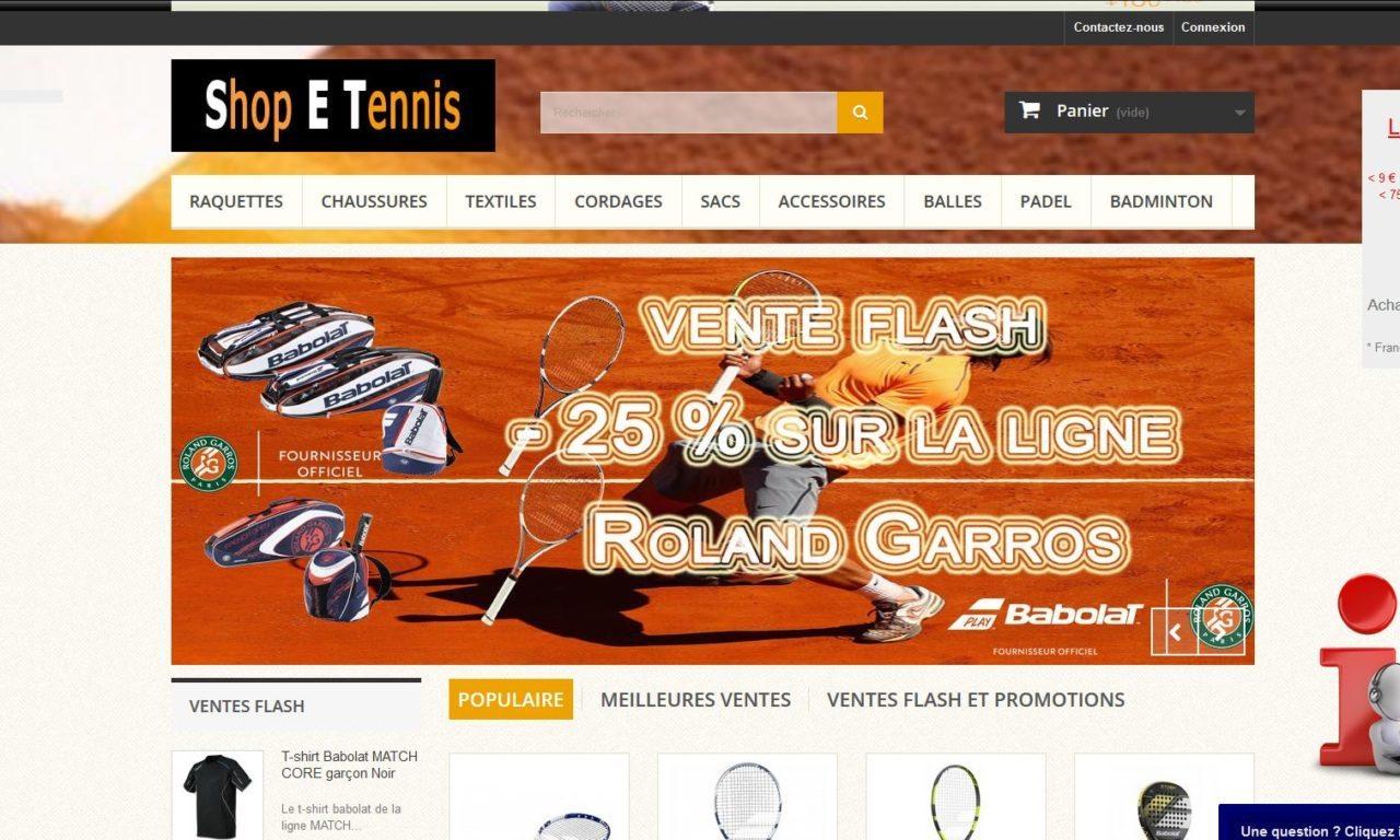 Shop E Tennis