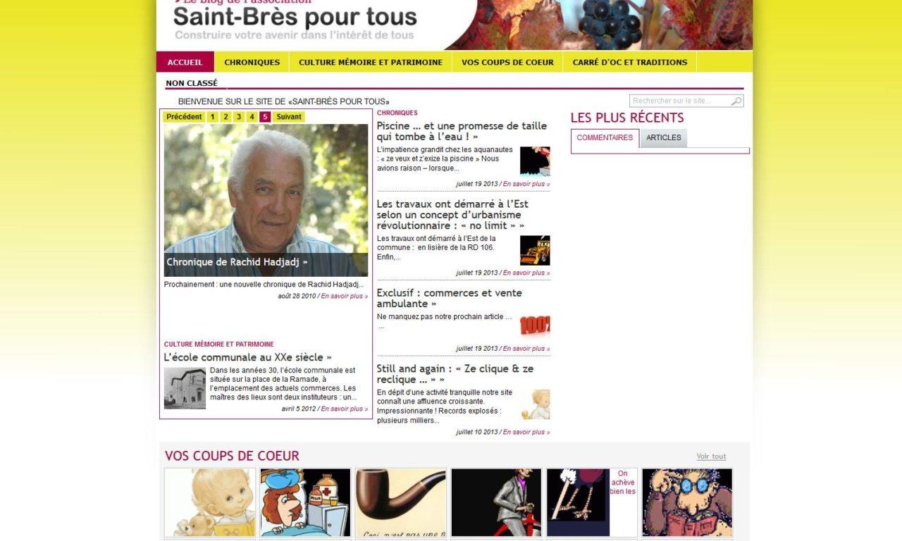 Saint-Brès pour Tous