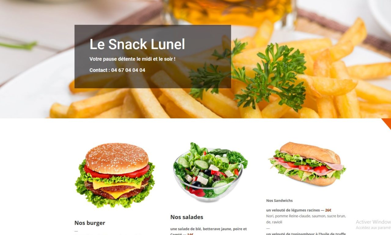 Snack Lunel